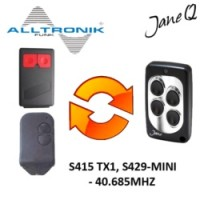 ALLTRONIK Gate Remote 40.685MHZ, Replaced by Jane Q Low-frequency Remote.