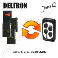 DELTRON Gate Remote 27.015MHZ, Replaced by Jane Q Low-frequency Remote.