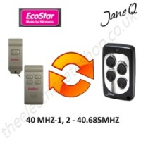 ECOSTAR Gate Remote 40.685MHZ, Replaced by Jane Q Low-frequency Remote.