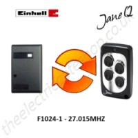 EINHELL Gate Remote 27.015MHZ, Replaced by Jane Q Low-frequency Remote.