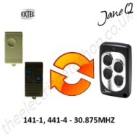 EXTEL Gate Remote 30.875MHZ, Replaced by Jane Q Low-frequency Remote.