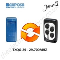 GAPOSA Gate Remote 29.700MHZ, Replaced by Jane Q Low-frequency Remote.