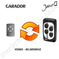 GARADOR Gate Remote 40.685MHZ, Replaced by Jane Q Low-frequency Remote.