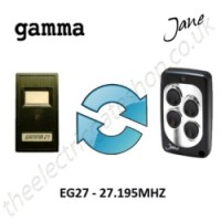 GAMMA Gate Remote 27.195MHZ, Replaced by Jane Q Low-frequency Remote.
