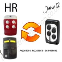 HR Gate Remote 26.995MHZ, Replaced by Jane Q Low-frequency Remote.