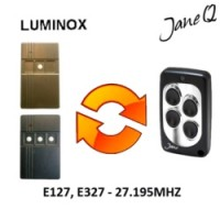 LUMINOX Gate Remote 27.195MHZ, Replaced by Jane Q Low-frequency Remote.