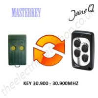MASTERKEY Gate Remote 30.900MHZ, Replaced by Jane Q Low-frequency Remote.