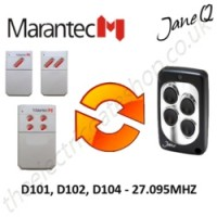 MARANTEC Gate Remote 27.095MHZ, Replaced by Jane Q Low-frequency Remote.