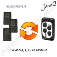 NEUKIRCHEN Gate Remote 40.685MHZ, Replaced by Jane Q Low-frequency Remote.