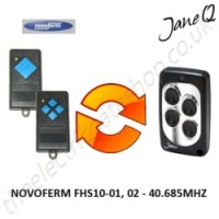 NOVOFERM Gate Remote 30.875MHZ, Replaced by Jane Q Low-frequency Remote.