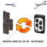 PRASTEL Gate Remote 30.875MHZ, Replaced by Jane Q Low-frequency Remote.