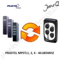 PRASTEL Gate Remote 40.685MHZ, Replaced by Jane Q Low-frequency Remote.