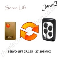 SERVO-LIFT Gate Remote 27.195MHZ, Replaced by Jane Q Low-frequency Remote.