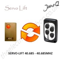 SERVO-LIFT Gate Remote 40.685MHZ, Replaced by Jane Q Low-frequency Remote.