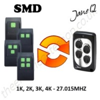SMD Gate Remote 27.015MHZ, Replaced by Jane Q Low-frequency Remote.