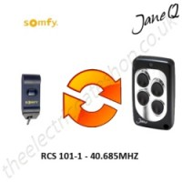 SOMFY Gate Remote 40.685MHZ, Replaced by Jane Q Low-frequency Remote.