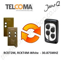 TELCOMA Gate Remote 30.875MHZ, Replaced by Jane Q Low-frequency Remote.