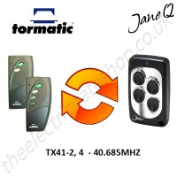 TORMATIC Gate Remote 40.685MHZ, Replaced by Jane Q Low-frequency Remote.