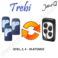 TREBI Gate Remote 30.875MHZ, Replaced by Jane Q Low-frequency Remote.