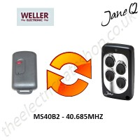 WELLER Gate Remote 40.685MHZ, Replaced by Jane Q Low-frequency Remote.