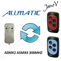 ALLMATIC Gate Remote 306.00MHZ, Replaced by Jane V Multi-frequency Remote.