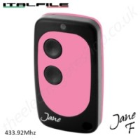 Italfile Jane Remote made in Italy, 433Mhz Fixed Code Gate Remote