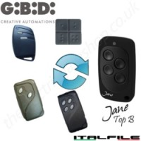 jane top b remote replaces the gibidi au01590 au1680 au1600 domino remotes