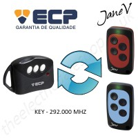 ECP Gate Remote 292.000MHZ, Replaced by Jane V Multi-frequency Remote.