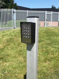 keypad mounting post