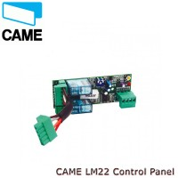 came lm22 control panel