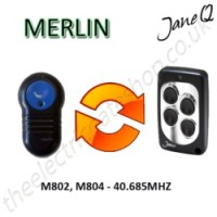 MERLIN Gate Remote 40.685MHZ, Replaced by Jane Q Low-frequency Remote.