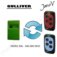 GULLIVER Gate Remote 306.000MHZ, Replaced by Jane V Multi-frequency Remote.