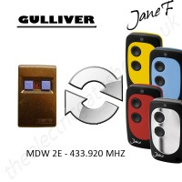 gulliver gate remote 433.920mhz, replaced by jane f remote.