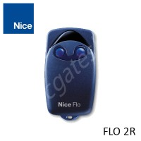 NICE FLO 2R Remote Control, replaced by NICE INTI2 BLACK 2 Button Remote.