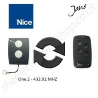 Jane Top-A 433.92 Mhz Clone Remote to clone Nice One 2 Gate Remote