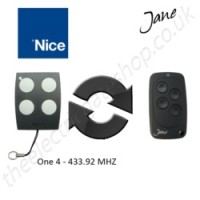 Jane Top-A 433.92 Mhz Clone Remote to clone Nice One 4 Gate Remote