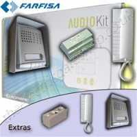 farfisa audion intercom - single or two dwelling audio, without keypad.