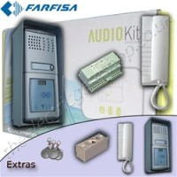 farfisa audio intercom - single dwelling with proximity reader.
