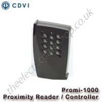 cdvi promi 1000 proximity reader incl. pc software for easy setup.