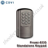 cdvi standalone keypad - the promi-eco is designed for both internal and external use