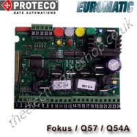 proteco / euromatic q54a control panel, also known as the idea b. the proteco q60a is ideal for twin swing gate installations on your proteco uk gate motors.