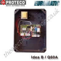 proteco / euromatic q60a control panel, also known as the idea b now replaces the q36a.