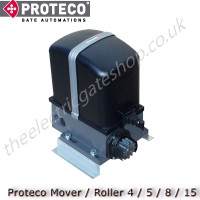 electromechanical irreversible gear motor for domestic sliding gate kits up to 500kg.
