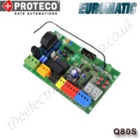 proteco / euromatic q80s 230v control unit for sliding gates. the proteco q80s is ideal for your proteco sliding gate motors.