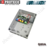 proteco / euromatic q80a control panel, the proteco q80a is ideal for twin swing gate installations on your proteco uk gate motors.