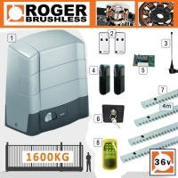roger technology brushless bg30 1600kg sliding kit