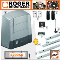 roger technology indus brushless bg30 2200kg sliding kit