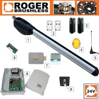 roger technology - titan br20/300 24v single gate kit