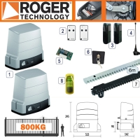 roger technology r30 800kg twin sliding kit