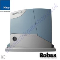 Available in three sizes the 'intelligent' NICE Robus caters for many sliding gate needs.
